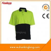 Shirt Wholesale Long Sleeve Yellow&Black Polo Shirt