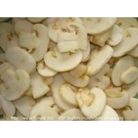 Buy cheap IQF Frozen Mushrooms IQF button mushroom slices from wholesalers