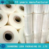 Buy cheap PE adhesive stretch film jumbo roll plastic pe stretch films from wholesalers