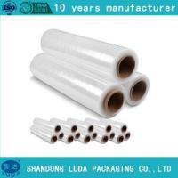 Buy cheap Film blue lldpe transparent shrink wrap pallet thickness stretch film from wholesalers