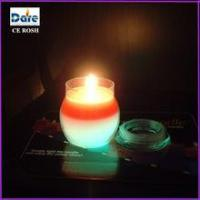 Buy cheap Eco-friendly Size D8 * H9 cm Battery Colour Changing Aroma Candle from wholesalers