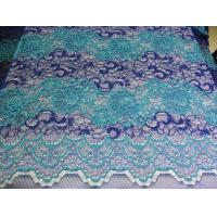 Buy cheap Beautiful Floral Cotton Nylon Lace Fabric By The Yard With Eco-Friendly Dyeing from wholesalers