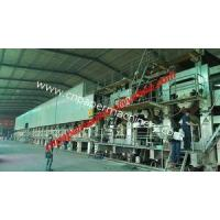 Buy cheap Corrugated/Fluting Paper Making Line 4300mm from wholesalers