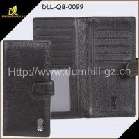 Buy cheap Wallet and Purse Faux Leather strap closure long wallet For Businessmen from wholesalers