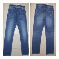 Buy cheap men's embossed jeans pant from wholesalers