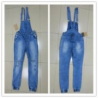Buy cheap women's susperder jeans pant from wholesalers