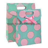 Buy cheap Luxury shopping paper bag, different types design custom paper shopping bag(PF-049) from wholesalers