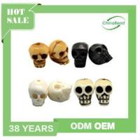 Carved Bone Wholesale Skull Beads, carved skull beads