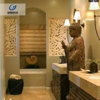 Buy cheap Durable waterproof and fireproof sandstone texture 3d wall art for hotel from wholesalers