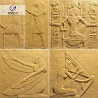 Southeast Asia style carved artificial sandstone blocks price for interior decoration