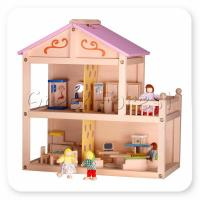 Buy cheap Cosy Doll's House (dolls and furniture not included) from wholesalers