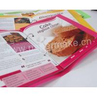 Buy cheap Colourful cookbook with perfect binding YCB-cb-013 from wholesalers