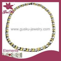 Buy cheap Gus-STN-010Healthy care Stainless Steel Necklace from wholesalers