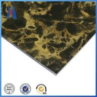 Buy cheap aluminum composite panel 2mm marble design ACP sign board from wholesalers