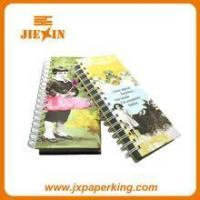 Buy cheap Printed student custom exercise spiral notebook from wholesalers