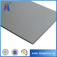 Buy cheap guangzhou brush aluminum composite panels,facade construction materials from wholesalers