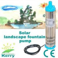 Buy cheap 3m3/H Solar pump new DC solar pump for swimming pool brushless motor from wholesalers