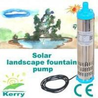 Buy cheap 3m3/H Solar pump windmill pump + solar submersible deep well water pumps from wholesalers