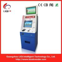 Buy cheap Utility Bill Payment Kiosk / Self Service Payment Terminal For Hospital from wholesalers
