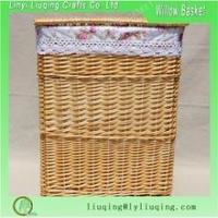 Buy cheap Wicker Laundry Baskets Large wicker basket with lid for hotel from wholesalers