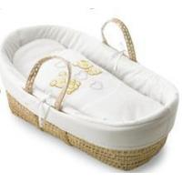 Buy cheap Wicker Baby Baskets Baby wicker moses basket with fabric baby carriers from wholesalers