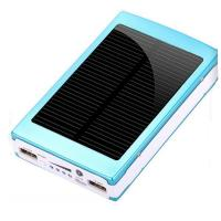 Buy cheap Wholesale 10000mah full capacity wallet size solar charger for mobile from wholesalers