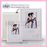 Buy cheap Self-Adhesive Album 12*8'' Purple Painting Fashionable Photo Albums For Wedding from wholesalers