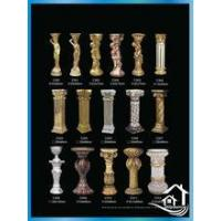 Fiberglass architectural elements Gorgeous decoration wedding pillars
