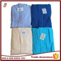 Buy cheap Good Quality Cheap 100% Cotton Custom Cotton Bathrobe from wholesalers
