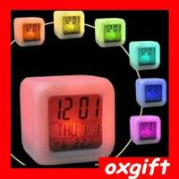 Buy cheap Electronic products name:OXGIFT Colorful Alarm Clock,LED Alarm Clock from wholesalers