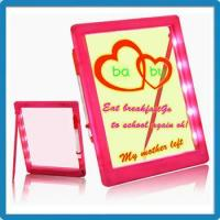 Buy cheap Attractive Christmas Children Gift Electronic Neon Writing Board With Free Fluorescent Marker Pen product