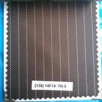 Buy cheap Bag/Luggage Fabric FDY STRIP 600D PU Coated Fabric For Bed Fabric Texture product