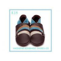 2013 new design genuine leather kids shoes