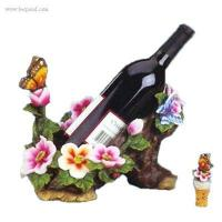 Buy cheap Bottle Holder Polyresin Flower Decorated Tree Wine Bottle Holder - SZ-BH-018 from wholesalers