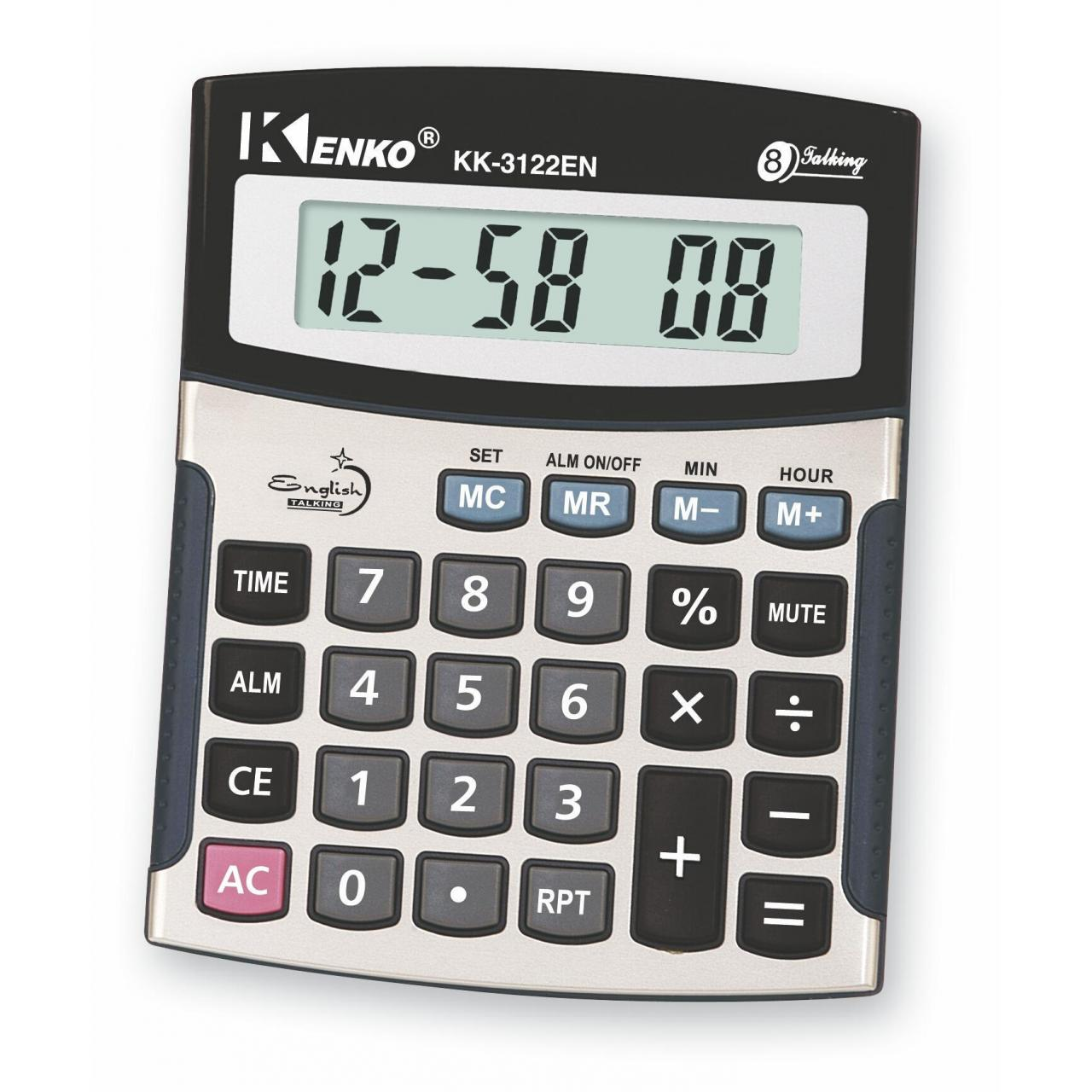 Buy cheap Foreign Language . Talking Calculator KK-3122EN from wholesalers
