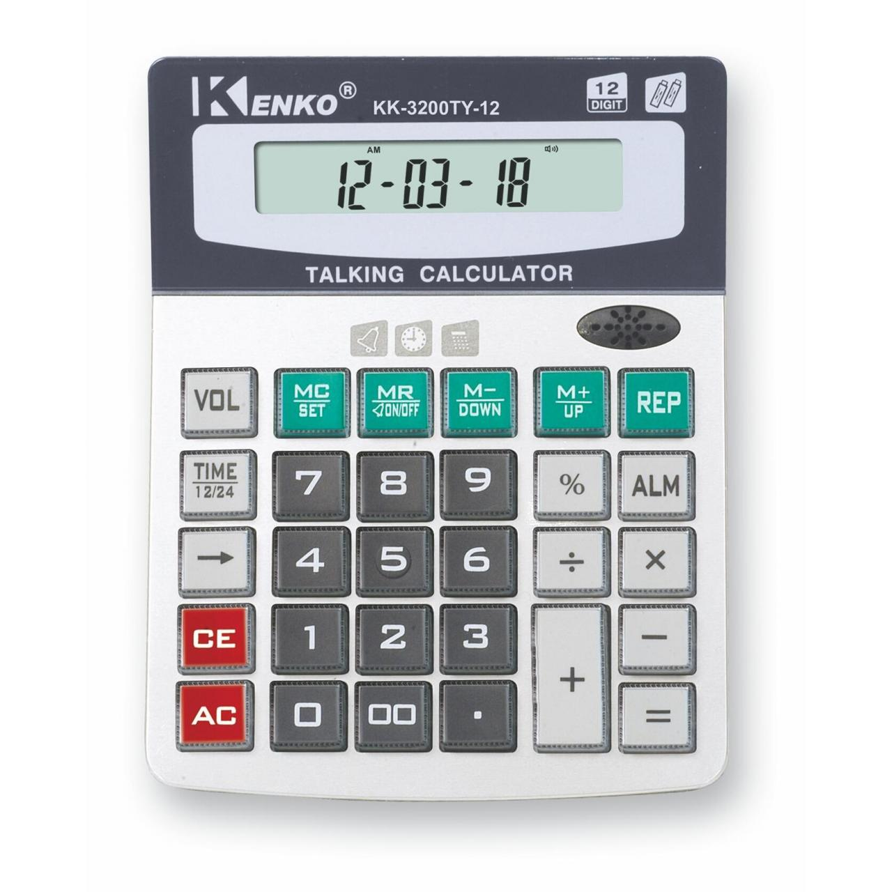 Buy cheap Foreign Language . Talking Calculator KK-3200TY-12 from wholesalers