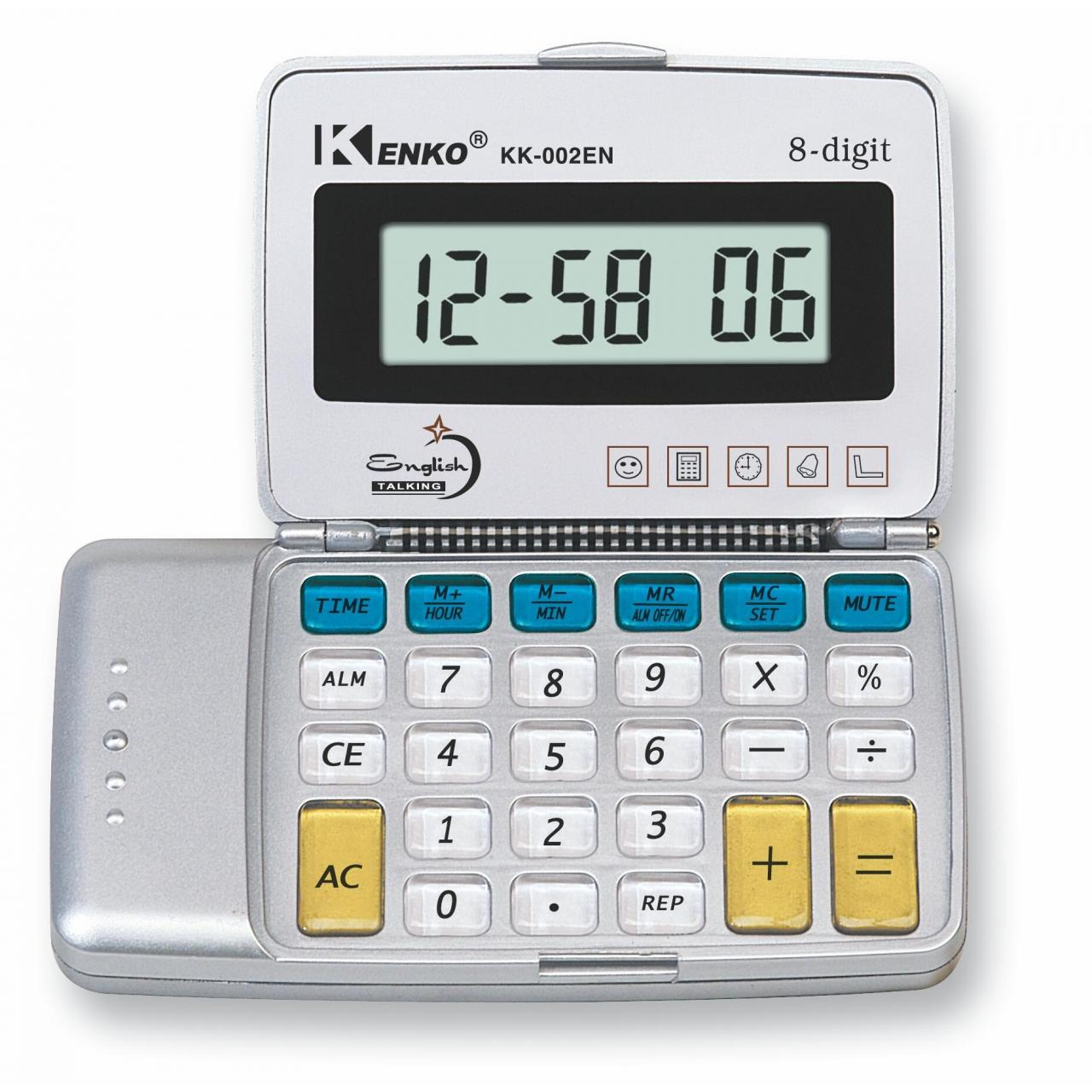 Buy cheap Foreign Language . Talking Calculator KK-002EN from wholesalers