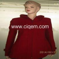 Buy cheap Apparel Processing Services ladies fashion casual long woolen coat from wholesalers