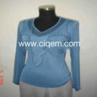 Buy cheap Apparel Stock fashion Women_s knitted garment from wholesalers