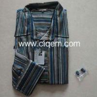 Buy cheap Apparel Stock Men_s stock shirt of 100% cotton from wholesalers