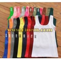Apparel Design Services U-neck and shortless hot vest roe lady