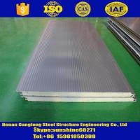 Buy cheap Rock wool/Glass wool/PU/Sandwich panels PU sandwich insulation panel for wall and roof from wholesalers