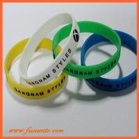 Buy cheap PW-008custom silicone wristband from wholesalers