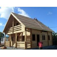 Buy cheap Tropical Moisture Ventilation Overwater Bungalow / Wooden Houses from wholesalers