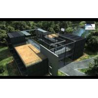 Buy cheap Solar Panel Prefab Container Homes Fully Finished Movable For Office from wholesalers