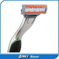 Buy cheap Men Personal care Mach triple blade razor with metal alloy handle from wholesalers