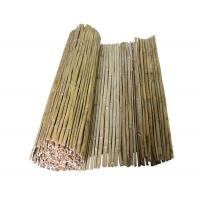 Buy cheap Split bamboo fence Normal size: 100*300cm 150*300 200*300 100*500 150*500 200*500 from wholesalers