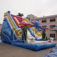 Buy cheap Rain forest bouncy jumping inflatable slide toys for kids from wholesalers