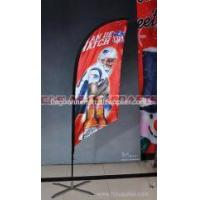 Buy cheap AD Flags Custom made feather flag from wholesalers