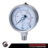 Buy cheap Laser Welding All SS Pressure Gauge from wholesalers